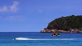 Kata Beach Phuket Province, a sud della Tailandia immagine stock libera da diritti
