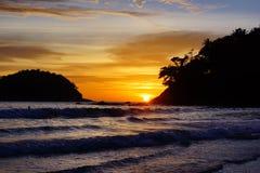 Kata Beach Phuket Province, Zuiden van Thailand Royalty-vrije Stock Afbeelding