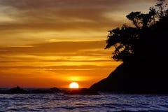 Kata Beach Phuket Province, Zuiden van Thailand Stock Foto's