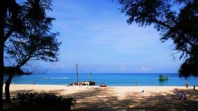 Kata Beach Phuket Province, Zuiden van Thailand Stock Afbeeldingen