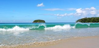Kata beach, Phuket Thailand Stock Image