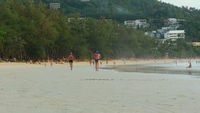 Kata beach stock video