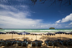 Kata Beach Phuket Stock Photography
