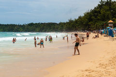 Kata Beach Thailand Stock Photography