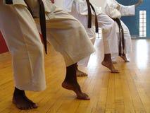 Kata del karate Imagenes de archivo