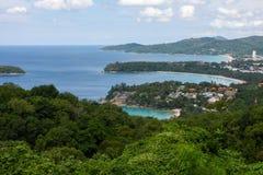 Kata, Karon, Patong Standpunkt, Phuket, Thailand Lizenzfreie Stockfotos