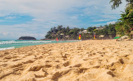 Kata Noi beach at Phuket island Stock Photo