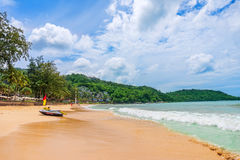 Kata Noi beach at Phuket Royalty Free Stock Photography