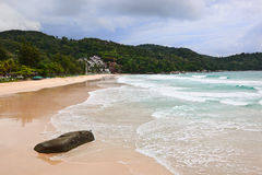 kata noi phuket пляжа Стоковая Фотография