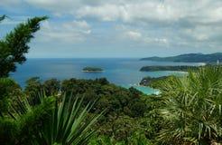 kata phuket Ταϊλάνδη νησιών παραλιών Στοκ Εικόνα