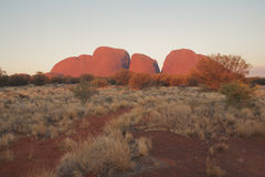 Kata Tjuta photographie stock