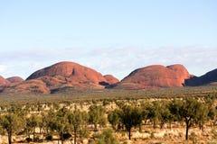 Kata tjuta Australien arkivbilder