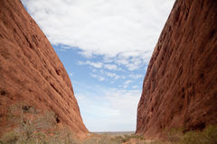 Kata Tjuta - Ayers Rock Royalty Free Stock Image