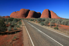 Kata Tjuta, o Olgas, Austrália Imagem de Stock Royalty Free