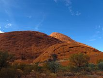 Kata Tjuta (Olgas)在Uluru国家公园 免版税库存图片