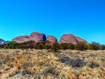 Kata-Tjuta (The Olgas). At dawn in Northern Territory, Australia royalty free stock photo