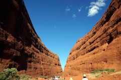 Kata Tjuta, The Olgas view Stock Photos