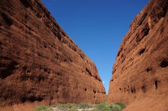 Kata Tjuta, The Olgas view Royalty Free Stock Images