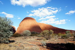 Kata Tjuta, The Olgas view Stock Photography