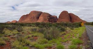 Kata Tjuta (Olgasen), Australien Royaltyfri Foto