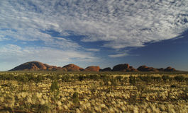 Kata Tjuta Panorama Stock Photography