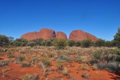 Kata Tjuta park narodowy w Australia fotografia stock