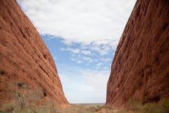 Kata Tjuta - roche d'Ayers image libre de droits