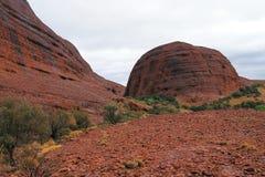 Kata Tjuta Rock Formation Arkivfoton