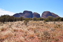 Kata Tjuta rock formation of Central Australia Stock Photography