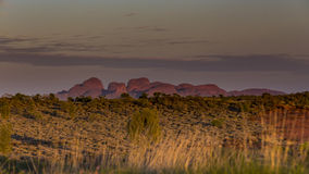 Kata Tjuta at Sunrise Royalty Free Stock Images