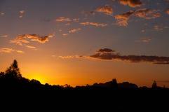 Kata Tjuta Sunset Imagens de Stock