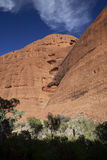 KATA TJUTA. Typical landscape and rock in central Australia Stock Photos