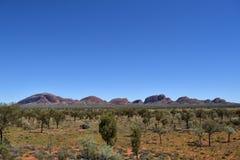 Kata Tjuta Uluru-Kata Tjuta国家公园, 库存图片
