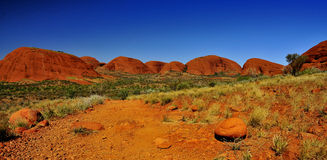 Kata Tjuta. Uluru KataTjuta national park Australia stock photo