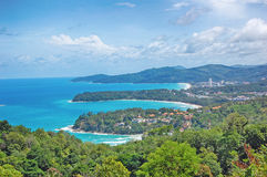 Kata Viewpoint en la isla de Phuket, Tailandia - KATA imagen de archivo