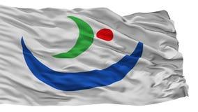 Katagami miasta flaga, Japonia, Akita prefektura, Odizolowywająca Na Białym tle ilustracja wektor