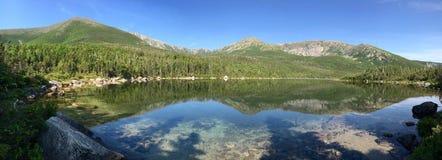 Katahdin jezioro Fotografia Royalty Free