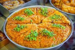 Kataifi pastry Stock Image