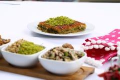 Kataifi - Tradycyjny Turecki deser Zdjęcia Royalty Free