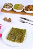 Kataifi - Tradycyjny Turecki deser Obraz Royalty Free
