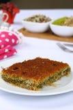 Kataifi - Tradycyjny Turecki deser Obrazy Royalty Free