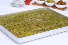 Kataifi - Tradycyjny Turecki deser Obrazy Stock