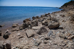Katakolon plaża Fotografia Royalty Free