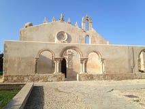 Katakomber av st John Siracusa Italy Arkivbild