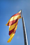 Katalanische Flagge Stockfoto