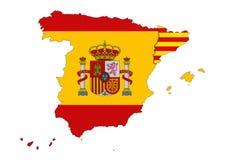Katalanische Unabhängigkeit Lizenzfreie Abbildung
