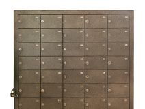 Katalog-CAB-Dateien, asphaltieren verschlossene Dateien lizenzfreies stockbild