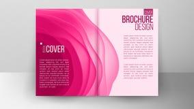 Katalog pokrywy projekta wektor Korporacyjnego biznesu szablon Szablon dla projekta ilustration Fotografia Royalty Free
