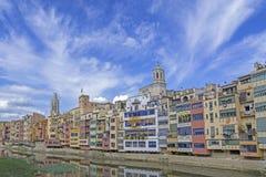 katalonii Girona Hiszpanii Fotografia Royalty Free