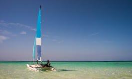 Katamaran, Cayo-Coco, Kuba Stockfoto